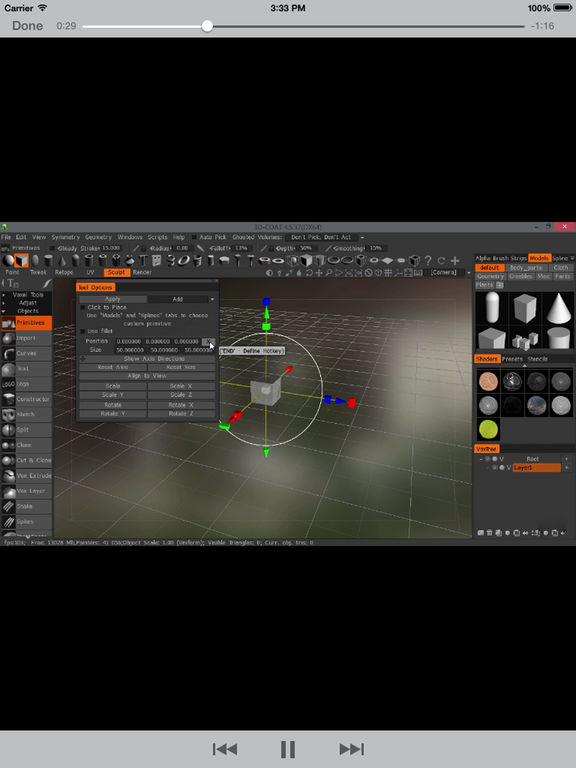 LearnFor 3DCoat screenshot 7