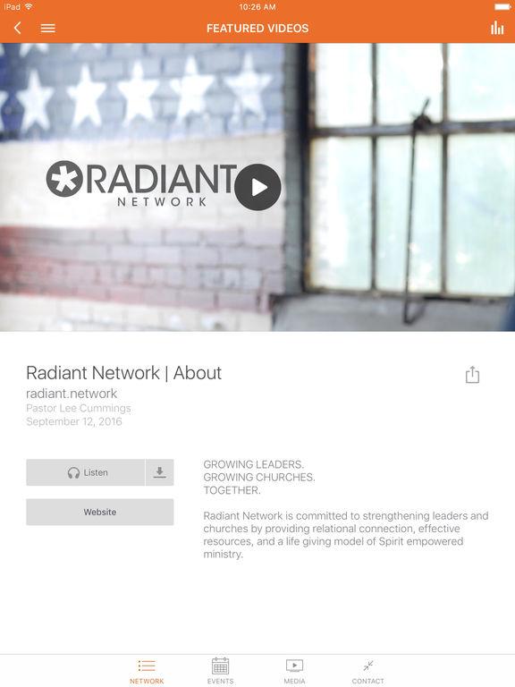 Radiant Network screenshot 5