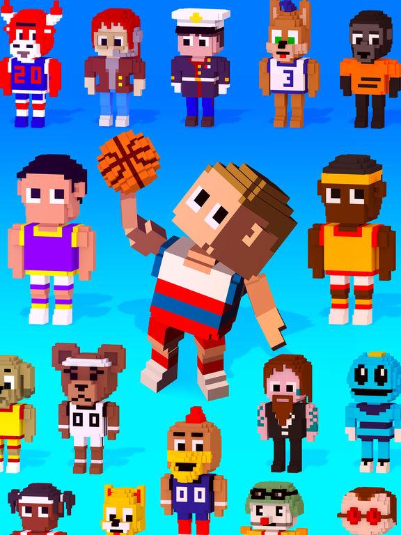 Blocky Basketball FreeStyle screenshot 10