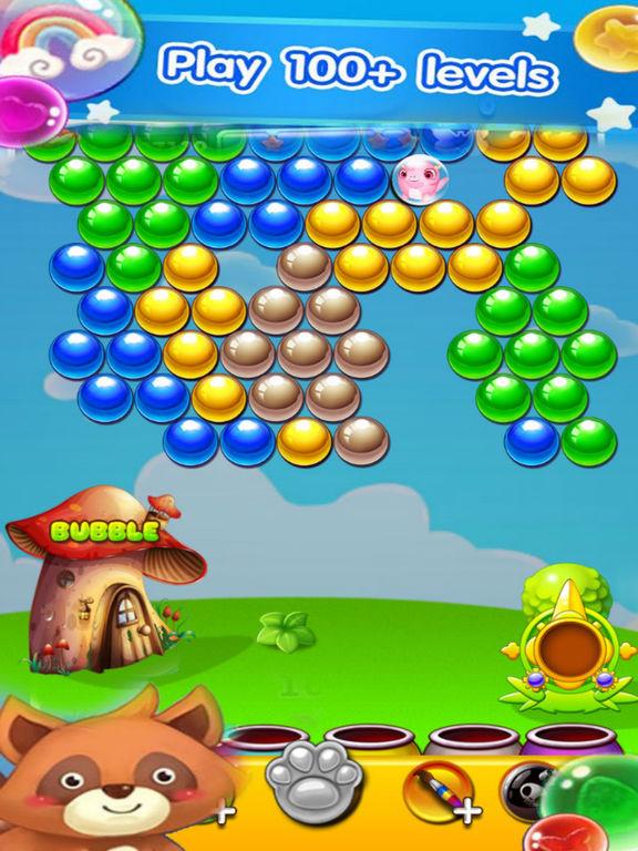 Excite Bubble - Rescue Pet Kute screenshot 4