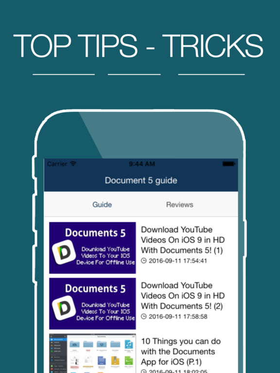 Guide for Documents 5 | Apps | 148Apps