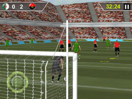 Real Flick Football : Pen-alty Soc-cer hero-es screenshot 5
