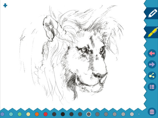 iSketch Pad for iPad and iPhone screenshot 10