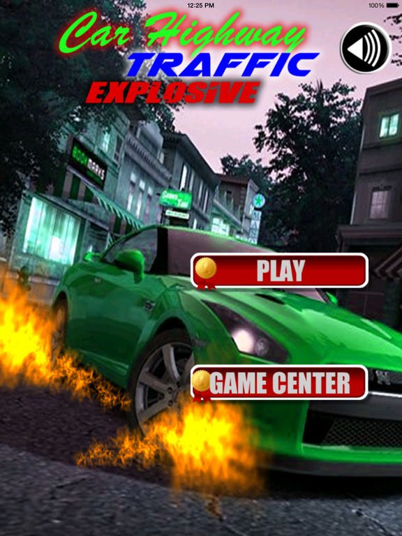 Car Highway Traffic Explosive PRO - A Fiery Race screenshot 6