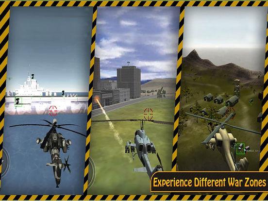 Apache Gunship 3D : Adventure Helicopter Battle Field screenshot 4