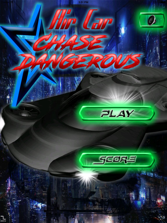 Air Car Chase Dangerous Pro - A Hypnotic Game Of Speed screenshot 6