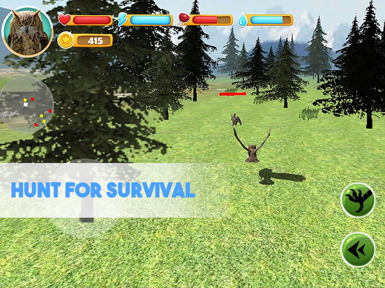 Forest Owl Simulator Full - Be a wild bird! screenshot 6