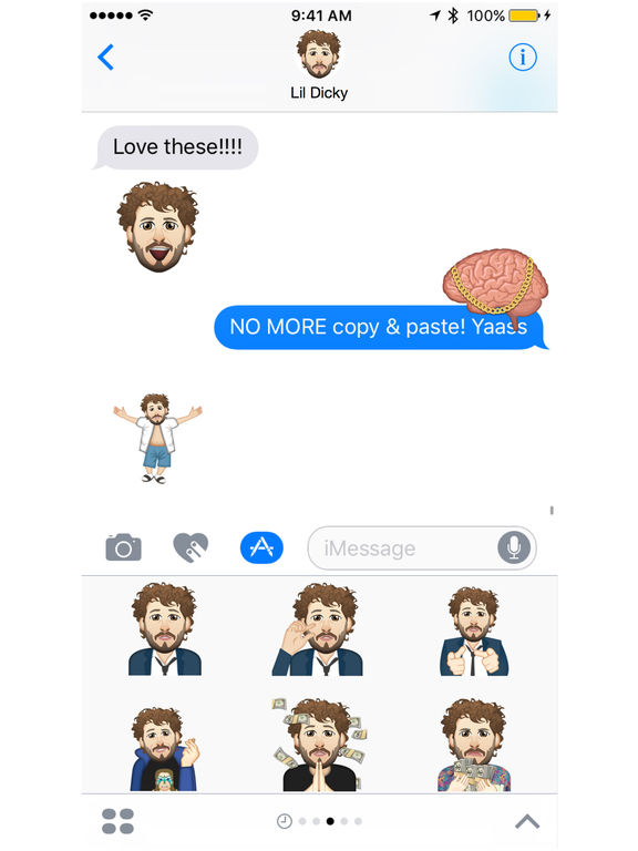 Lil Dicky ™ by Moji Stickers screenshot 4