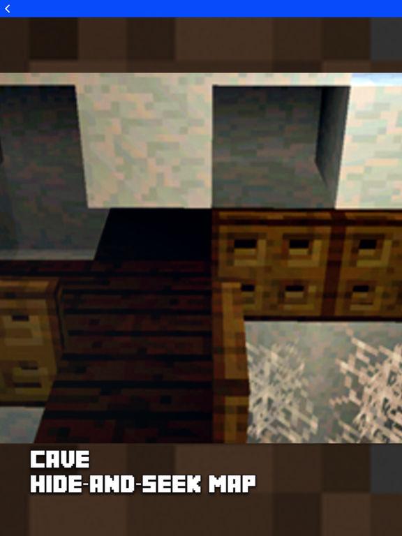 Hide N Seek - Best Maps for Minecraft Pocket MCPE screenshot 5