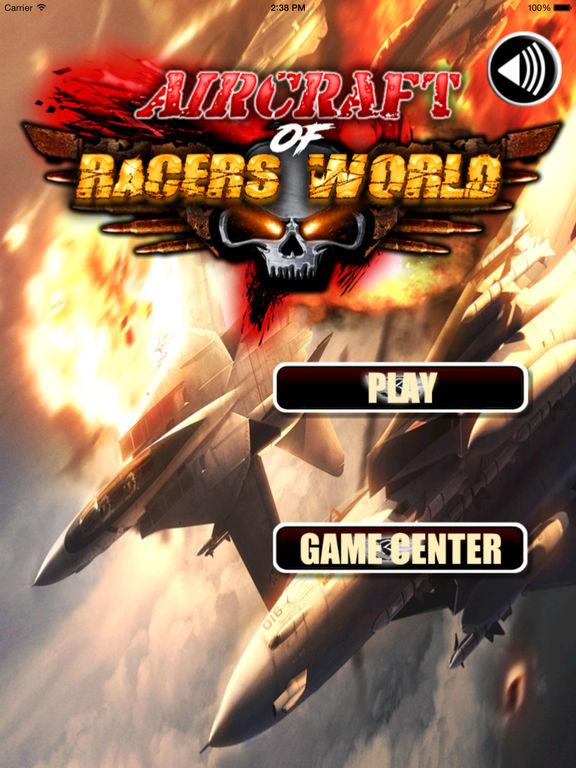 Aircraft Of Racers World - Amazing Flight Simulator Airforce screenshot 6