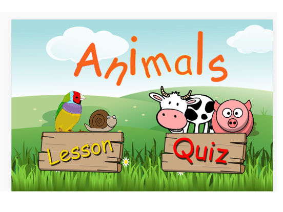 wild and farm animals names quiz | Apps | 148Apps