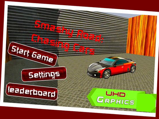 Smashy Road: Chasing Cars screenshot 5
