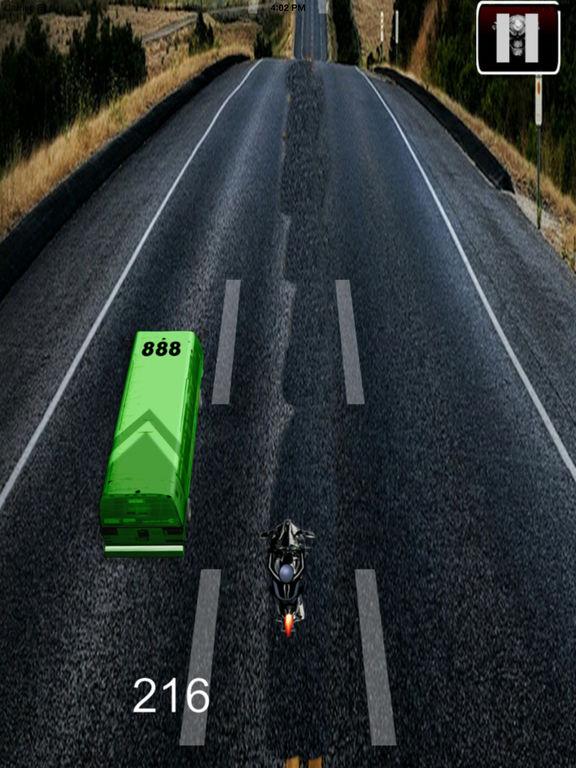A Speed Endless Biker Pro - Simulator Motorcycle Driver Game screenshot 8