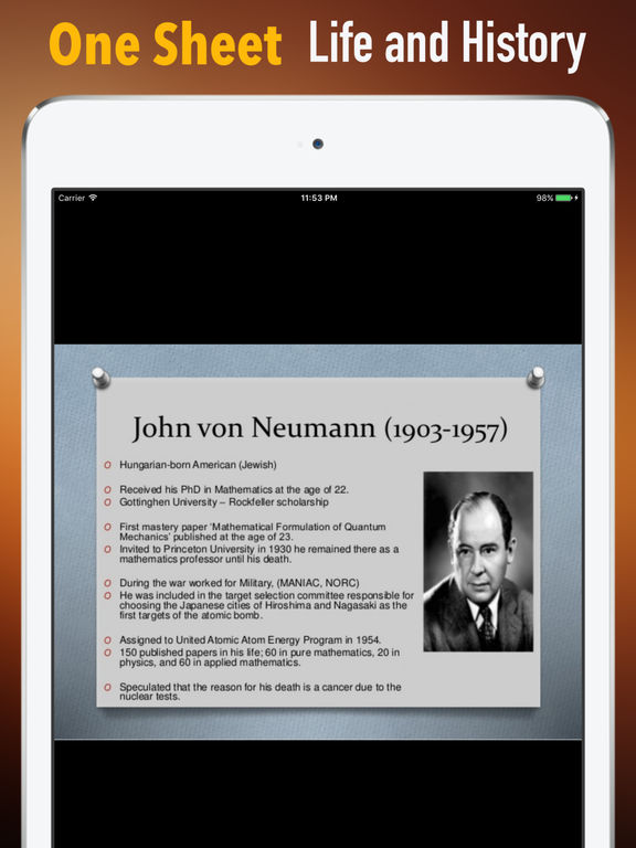 Biography and Quotes for John von Neumann screenshot 7