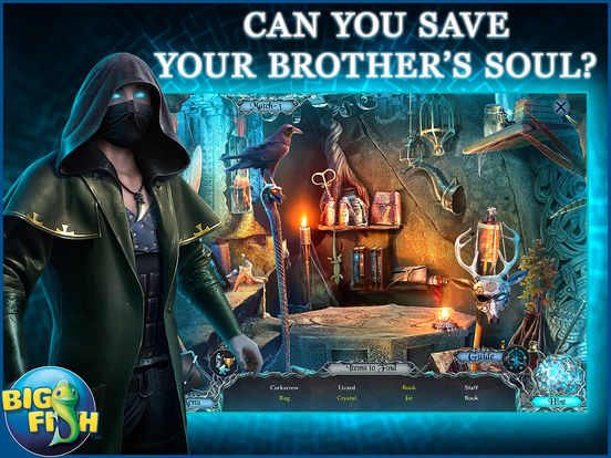 Sable Maze: Soul Catcher HD - A Mystery Hidden Object Game screenshot 2