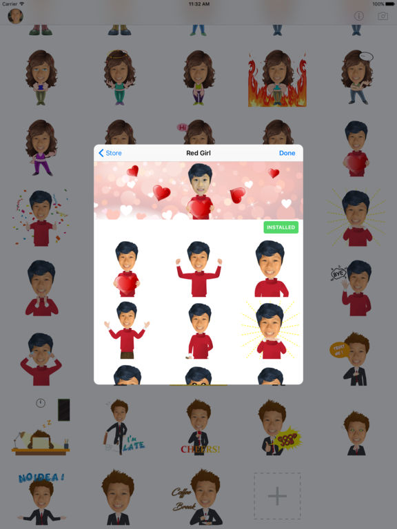 TopMoji - Make animated emoji with your avatar screenshot 8