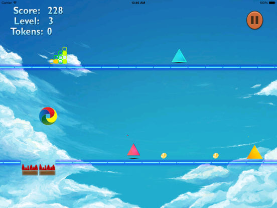 A Color Warned Jump PRO - A Danger Geometry Game screenshot 10
