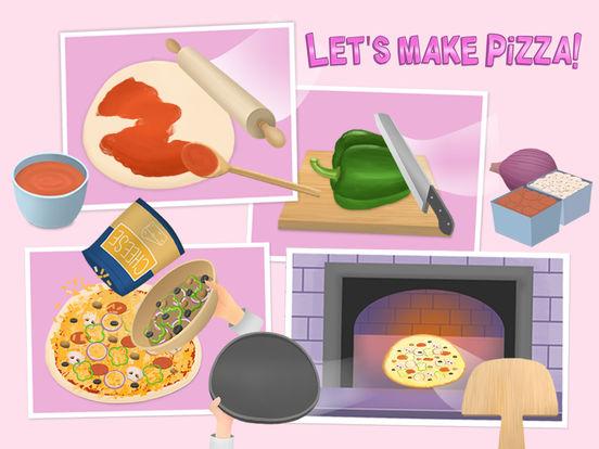 Baby Chef Sofia's Pizza Party - No Ads screenshot 6