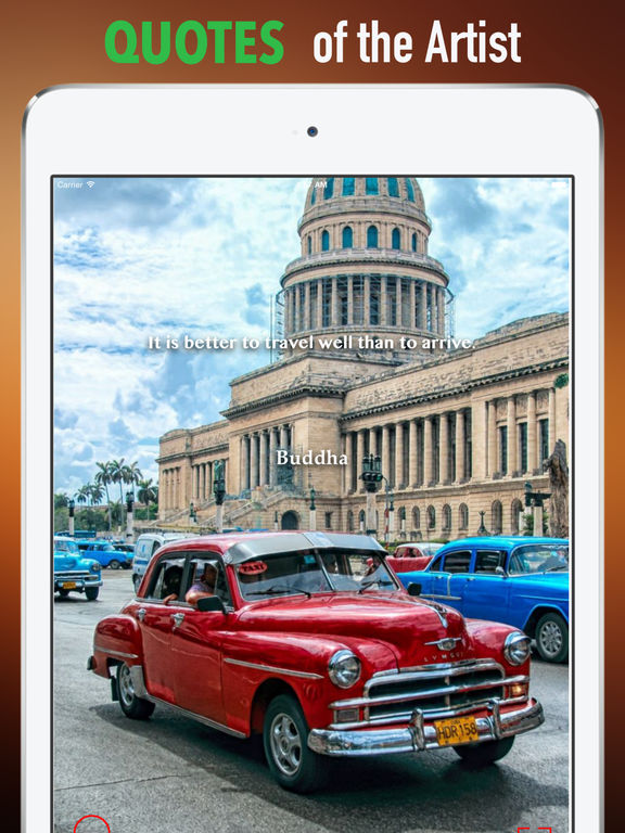 Cuba Wallpapers HD:Quotes with Art Pictures screenshot 9