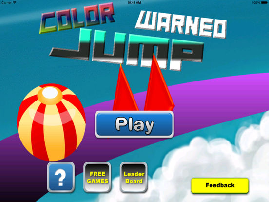 A Color Warned Jump - A Danger Geometry Game screenshot 7