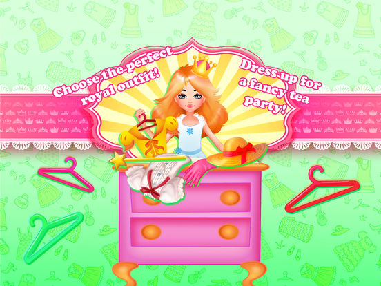 Princess Anna Tea Party - Cooking & Dress Up screenshot 7