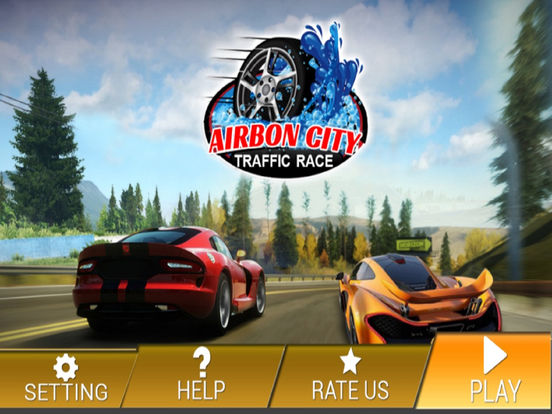 Airborn City Traffic Race : New Top 3D Game screenshot 5