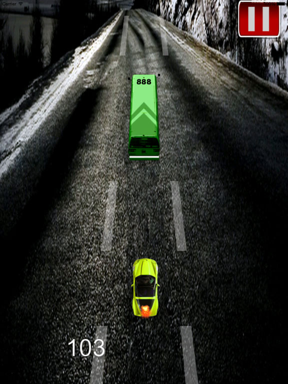 A Speed Endless To White Car - A Hypnotic Game Of Driving screenshot 9