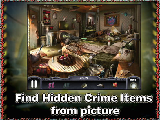 Crime Mystery Hidden Object Game - The Secret Detective Case - Solve Mysteries and Stop Criminals screenshot 6