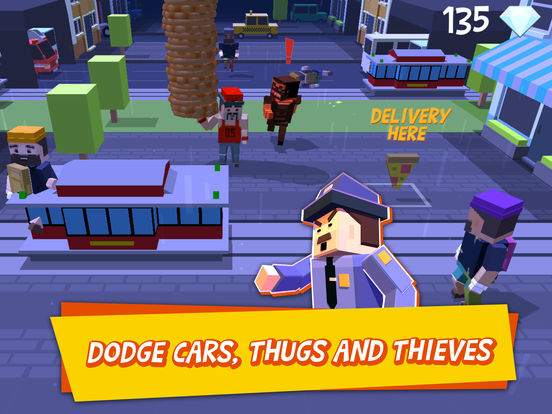 Pizza Street – Deliver that pizza! screenshot 8