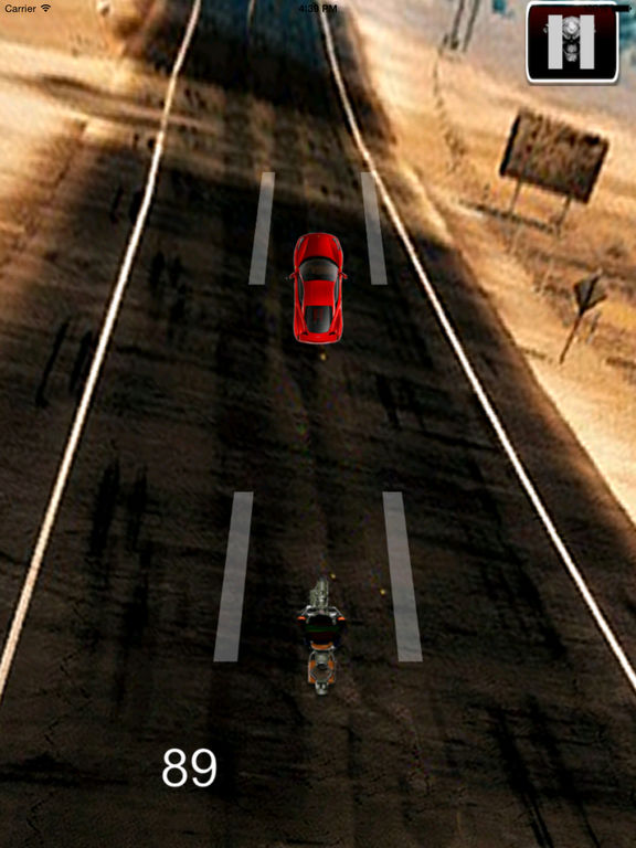 Real Biker Chase Pro - Incredible Motorcycle Old Game screenshot 7