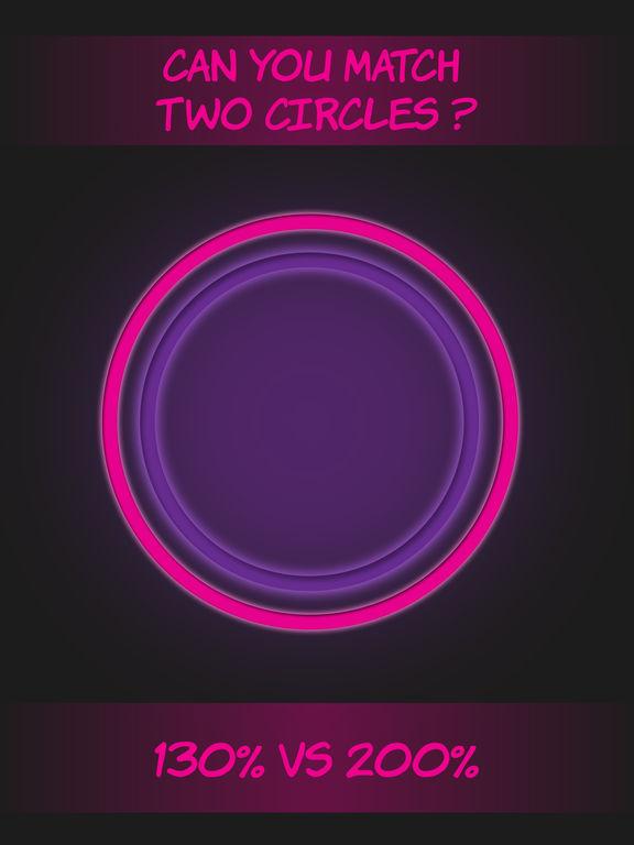 Pink circle shape to shape screenshot 5