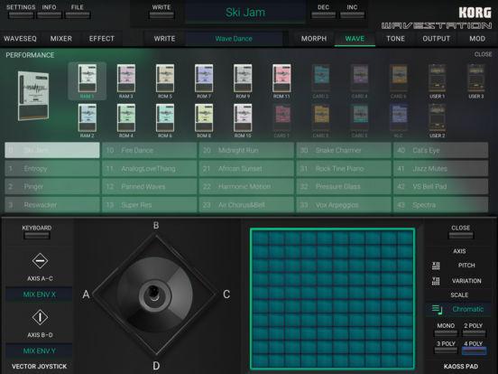 KORG iWAVESTATION screenshot 7