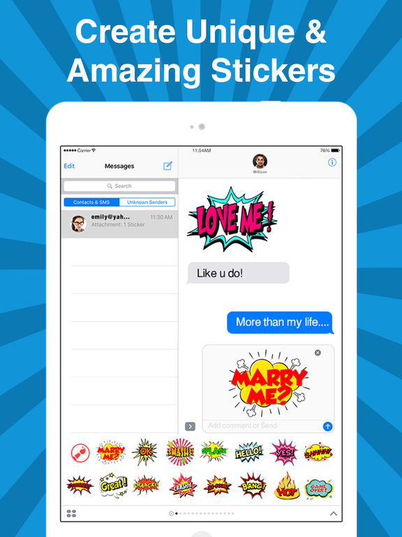 StickyFi - Sticker Maker For iMessage Stickers screenshot 10