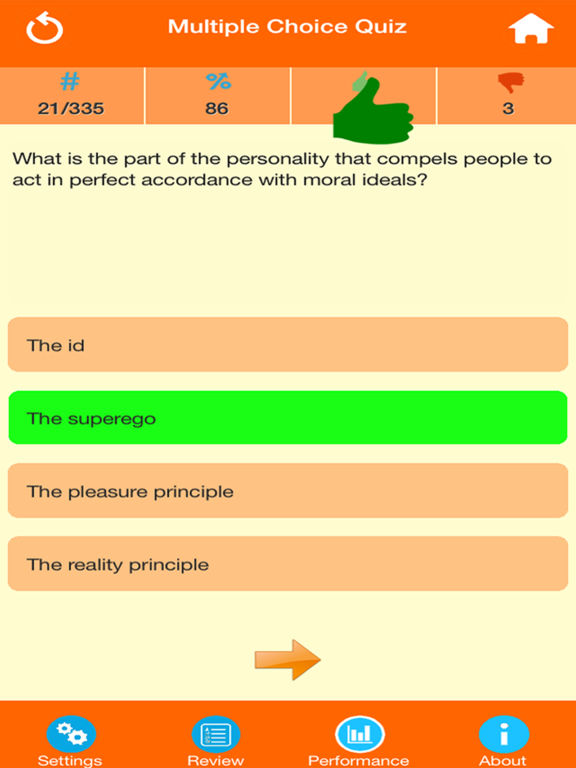 Human Psychology Quiz screenshot 7