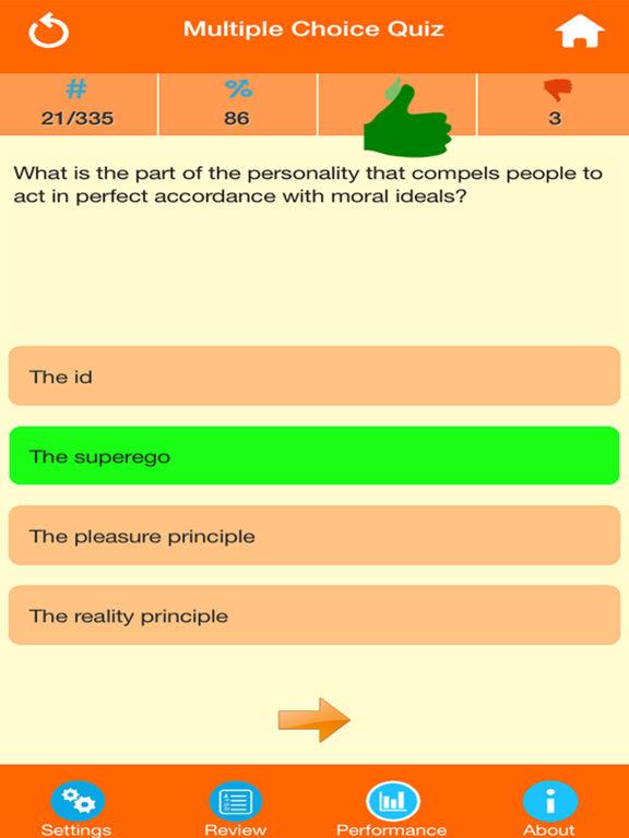 Human Psychology Quiz screenshot 7