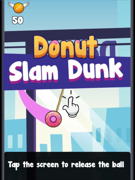 Donut Slam Dunk screenshot 6