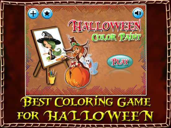 Halloween Color Paint For Kids & Adults screenshot 6