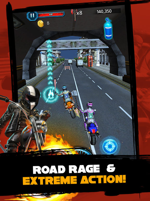 Motorcycle Street Racing : Speed Meltdown 3D screenshot 5