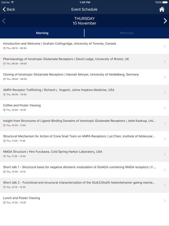 26th Neuropharmacology Conference screenshot 8