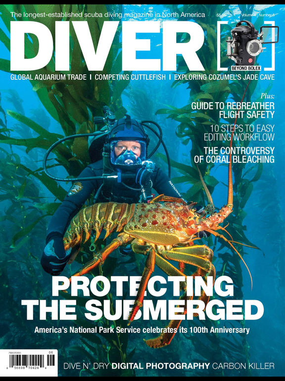 DIVER mag screenshot 6