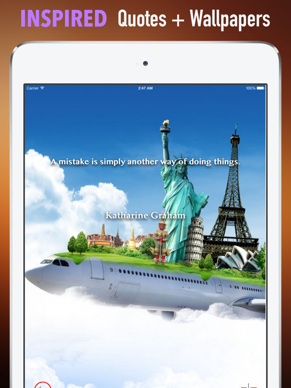 World Of Travel Wallpapers HD:Quotes with Art screenshot 10