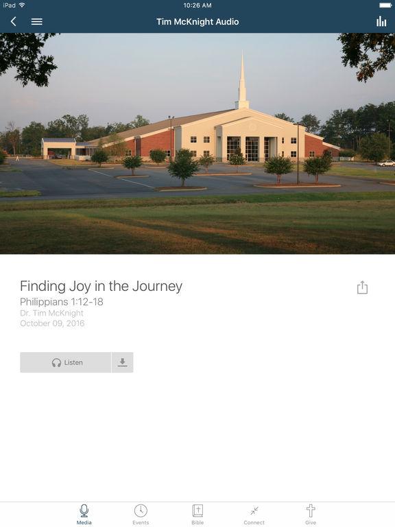 Lake Bowen Church App screenshot 5