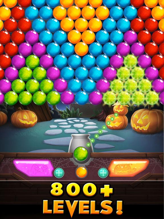 Bubble Shooter! Halloween screenshot 7