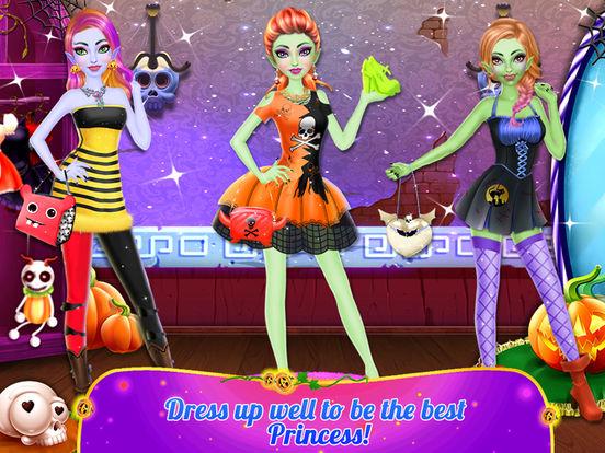 Halloween Princess Makeover screenshot 10