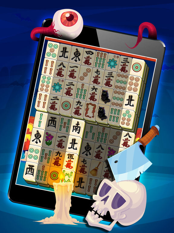 Magic Halloween Mahjong - Haunting Classic Majong screenshot 7