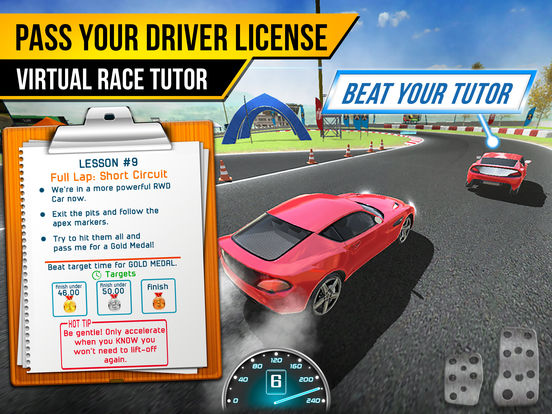 Race Driving School Car Racing Driver License Test screenshot 6