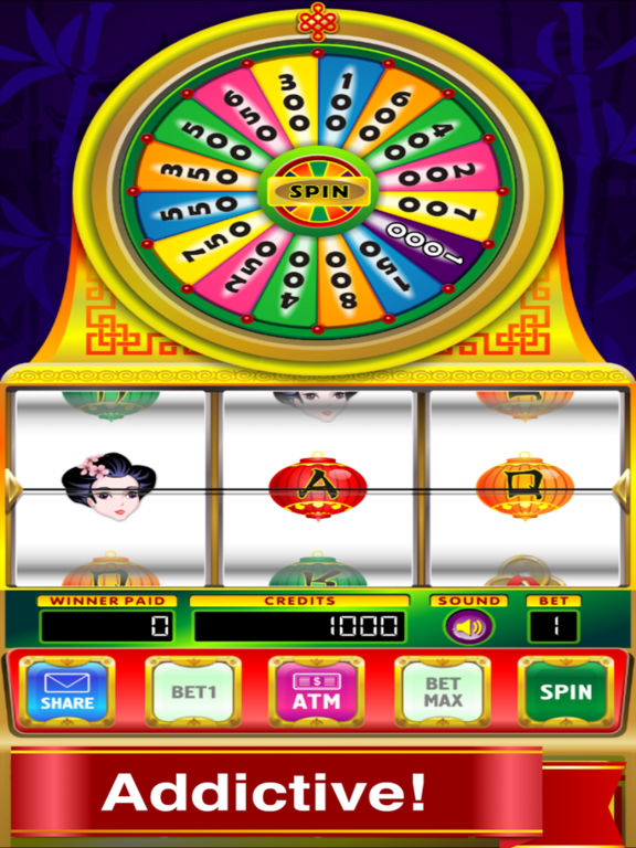 Geisha Slots: Spin It Wheel Mega Win Free screenshot 2