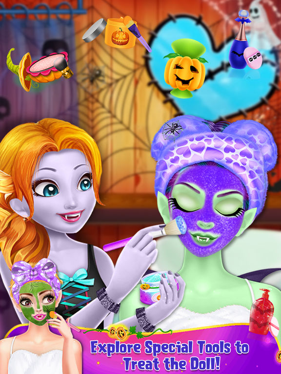 Halloween Spooky Doll Makeover screenshot 6