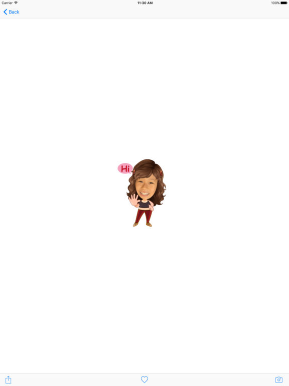 TopMoji - Make animated emoji with your avatar screenshot 7