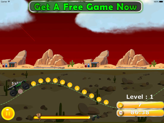 A Furious Monster Truck Pro - Car War Amazing Game screenshot 7